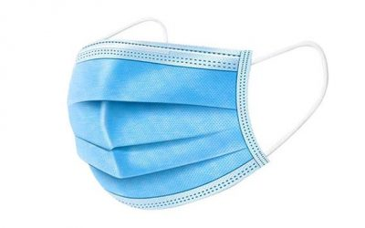 3-Ply Non-Woven Disposable Medical Surgical Face Mask